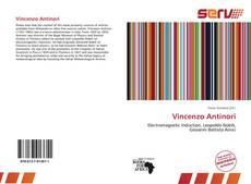 Bookcover of Vincenzo Antinori