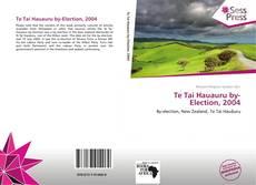 Te Tai Hauauru by-Election, 2004 kitap kapağı