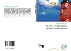 Bookcover of Te Whiti o Rongomai