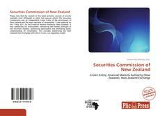 Portada del libro de Securities Commission of New Zealand
