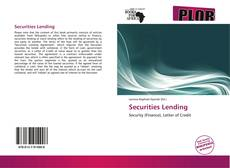 Copertina di Securities Lending