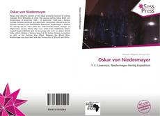 Buchcover von Oskar von Niedermayer