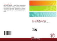 Portada del libro de Vincente Sanchez