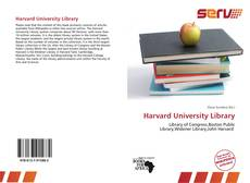 Harvard University Library kitap kapağı