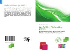 Обложка Wo Soll ich Fliehen Hin, BWV 5