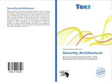 Copertina di Security Architecture
