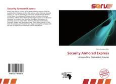 Portada del libro de Security Armored Express
