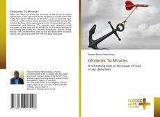Buchcover von Obstacles To Miracles