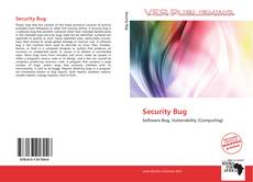 Bookcover of Security Bug