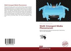 Portada del libro de WoW: Emergent Media Phenomenon
