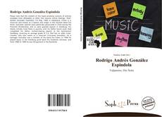 Portada del libro de Rodrigo Andrés González Espindola
