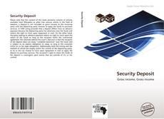 Buchcover von Security Deposit