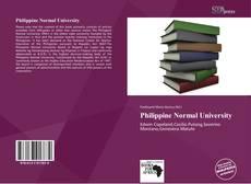 Buchcover von Philippine Normal University