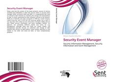 Capa do livro de Security Event Manager