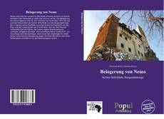 Обложка Belagerung von Neuss