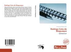 Bookcover of Rodrigo Cota de Maguaque