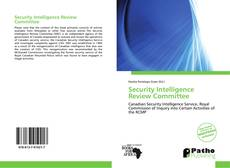 Copertina di Security Intelligence Review Committee