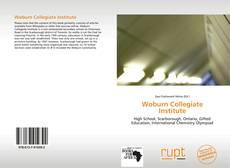 Woburn Collegiate Institute kitap kapağı