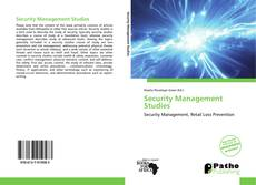 Bookcover of Security Management Studies