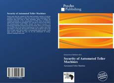 Bookcover of Security of Automated Teller Machines
