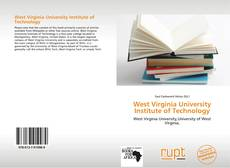 Bookcover of West Virginia University Institute of Technology