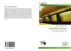 Bookcover of Oslo West Station