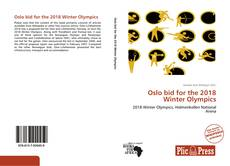 Bookcover of Oslo bid for the 2018 Winter Olympics