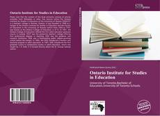 Buchcover von Ontario Institute for Studies in Education