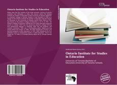 Ontario Institute for Studies in Education kitap kapağı
