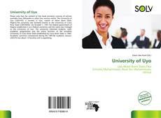 University of Uyo kitap kapağı