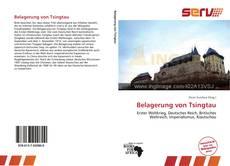 Capa do livro de Belagerung von Tsingtau