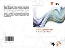 Buchcover von Security Question