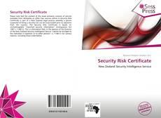 Security Risk Certificate kitap kapağı