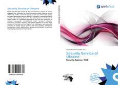 Security Service of Ukraine kitap kapağı