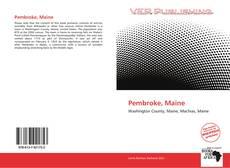 Buchcover von Pembroke, Maine