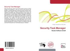 Bookcover of Security Task Manager