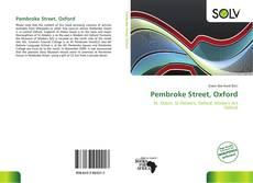 Pembroke Street, Oxford kitap kapağı
