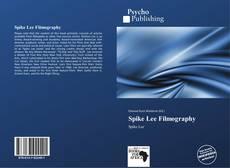 Capa do livro de Spike Lee Filmography