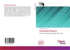 Capa do livro de Pembroke Players