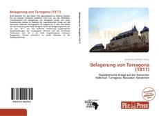 Buchcover von Belagerung von Tarragona (1811)