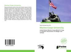 Обложка Marine Corps University