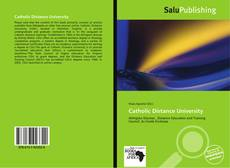 Copertina di Catholic Distance University