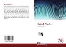 Обложка Rodrick Rhodes