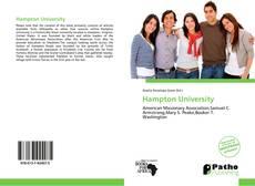 Bookcover of Hampton University