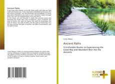 Buchcover von Ancient Paths