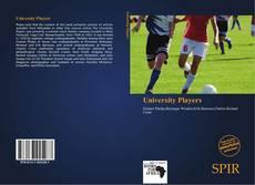 Capa do livro de University Players