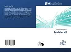 Bookcover of Teach For All