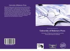 Capa do livro de University of Delaware Press