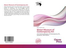 Watari Museum of Contemporary Art的封面