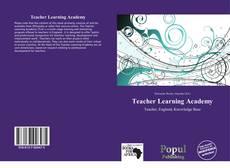 Portada del libro de Teacher Learning Academy
